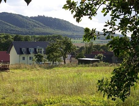 Haus mit Landschaft