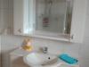 Dusche-WC der Fewo Tilleda