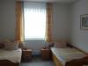 Zwei Einzelbetten in der Fewo Tilleda