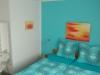 Doppelbett in der Fewo Tilleda