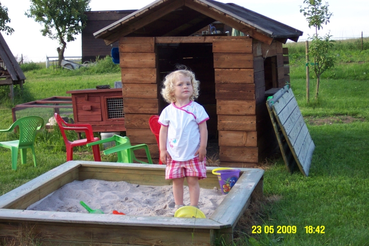 Kleiner Gast ganz groß Mai 2009