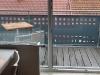 Blick auf den Balkon der Fewo Rothenburg