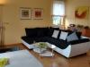 Die Couchecke im Wohnzimmer