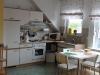 Die Küche der Fewo Rothenburg