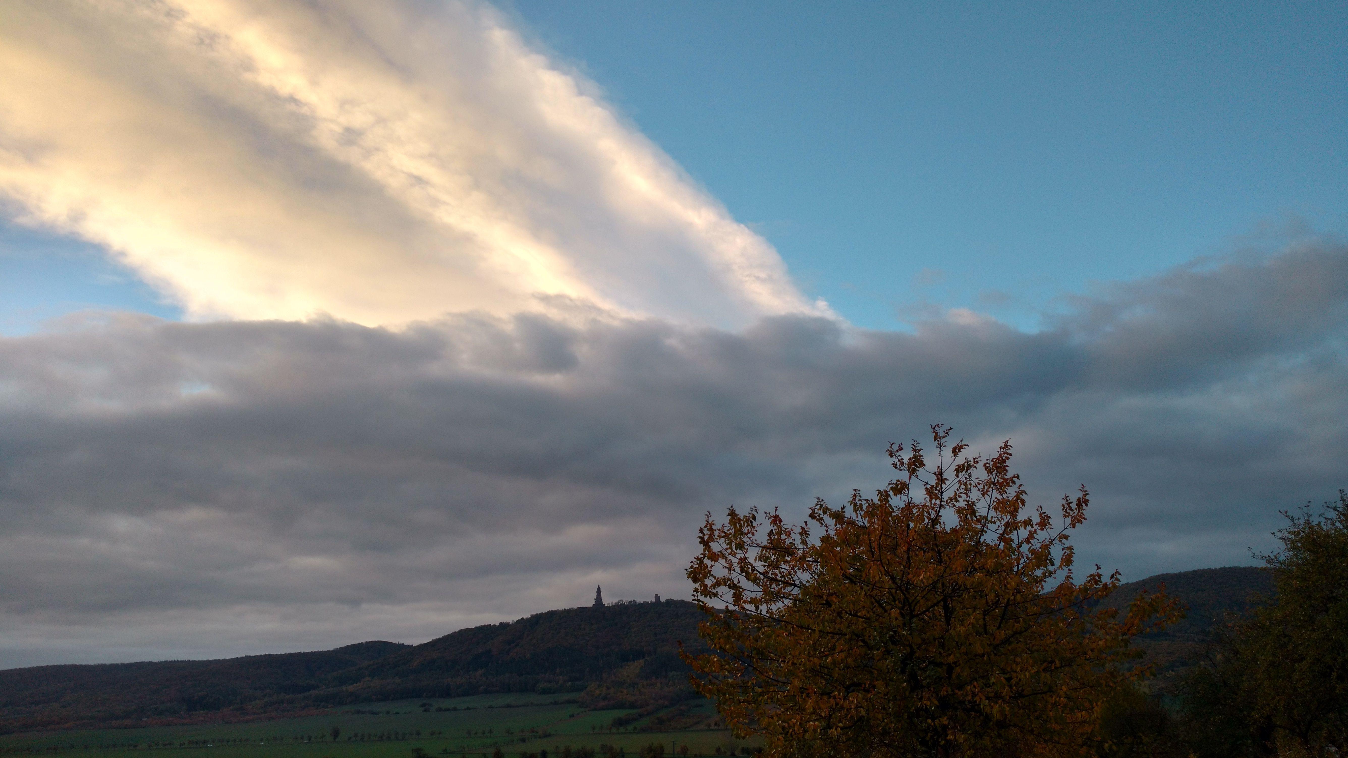 Wolkenformationen im November